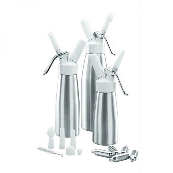 Lacor 68501 - Sifón crema 1.0 lts aluminio