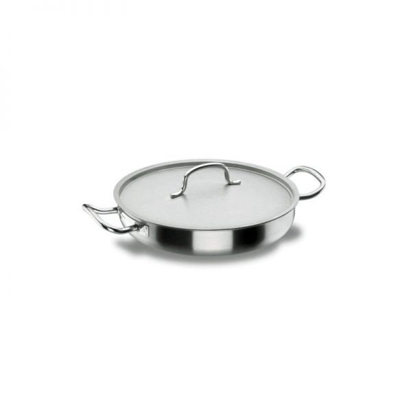 Lacor 50632 - Paellera con tapa de 32 chef inoxidable