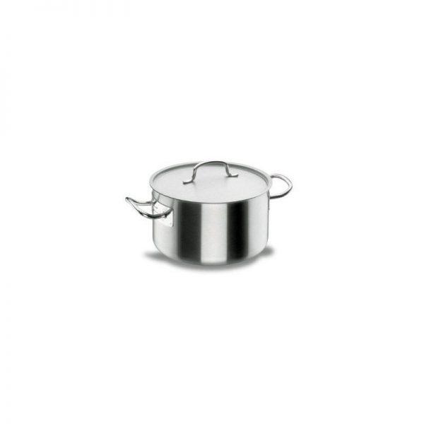 Lacor 50037 - Cacerola alta con tapa 36 Cm