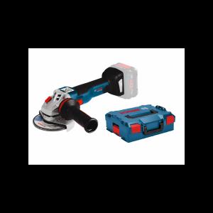 Amoladora Bosch GWS 18V-10 solo cuerpo + L-Boxx